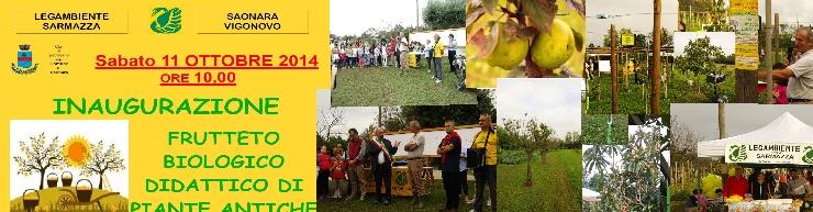 Inaugurazione 'Frutteto Biologico Didattico di piante Antiche'