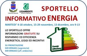SPORTELLO INFORMATIVO ENERGIA