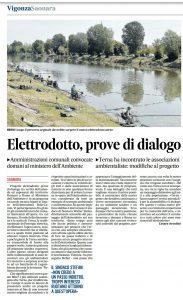 Elettrodotto, prove di dialogo